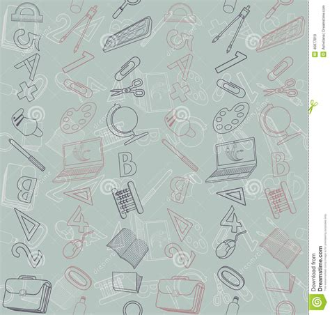 pattern education abstract seamless texture with abstract pattern on education or