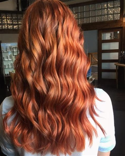 what color is copper 42 copper hair color shades for every skin tone in 2018