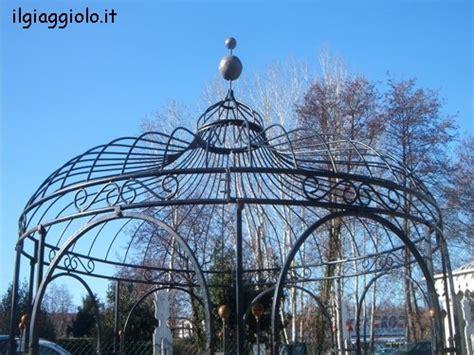 gazebo circolare gazebo in ferro battuto di forma ottagonale con cupola