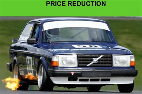 ex volvo racecarsdirect original 1984 volvo 240 turbo a