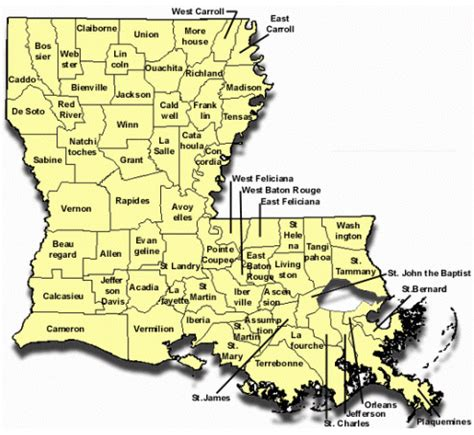 Calcasieu Parish Property Records Calcasieu Parish Map