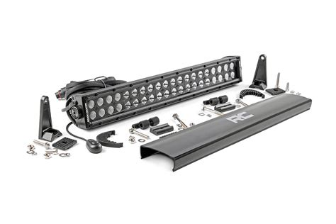 20 led light bar 20in led light bar grille kit for 2007 2018 jeep wrangler