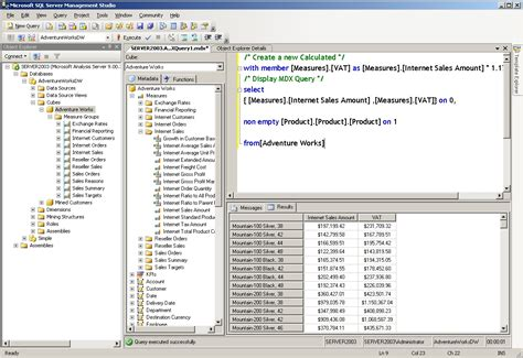 mdx query tutorial in sql server 2008 adding an mdx query to a reporting services 2005 report
