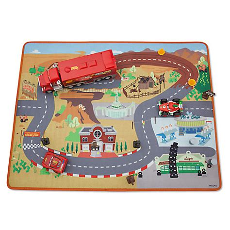 Disney Cars Book Play Mat - cars deluxe play set with mat disney store