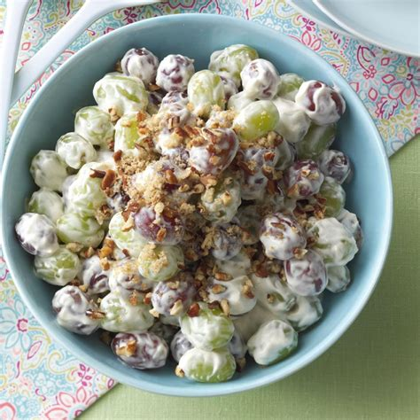 grape salad recipe taste of home