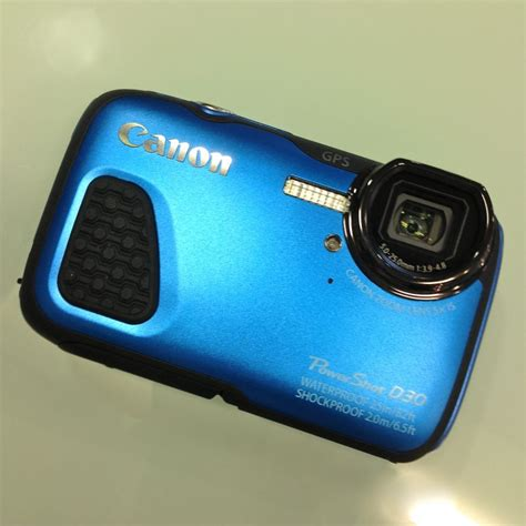 Kamera Canon Powershot D30 canon powershot d30 digital outdoor kamera unterwasserkamera angebote photo schneider