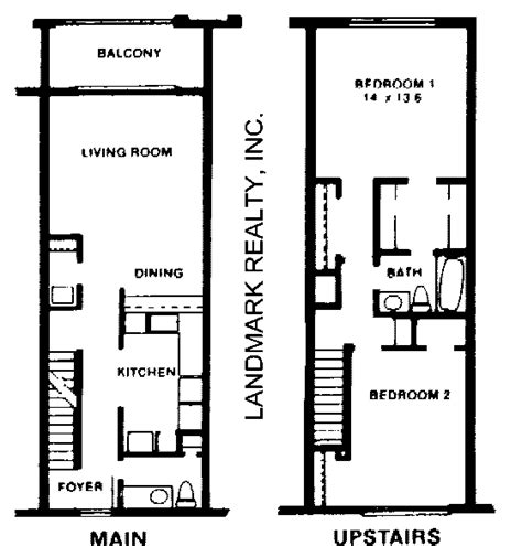 small townhouse plans modern townhouse floor plans images