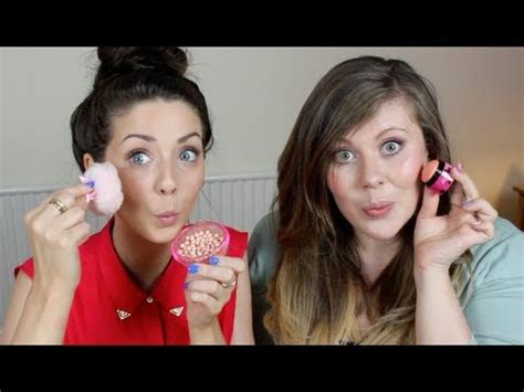 hair and makeup tutorials zoella soft summer makeup tutorial with louise zoella youtube