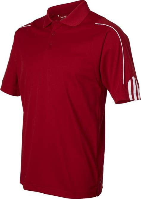 adidas mens a76 climalite 3 stripes cuff golf polo shirts