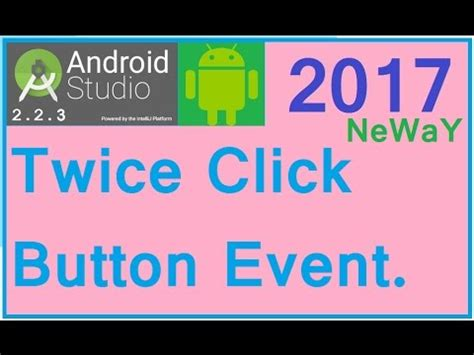 android studio tutorial button click android studio button click android studio tutorial 08