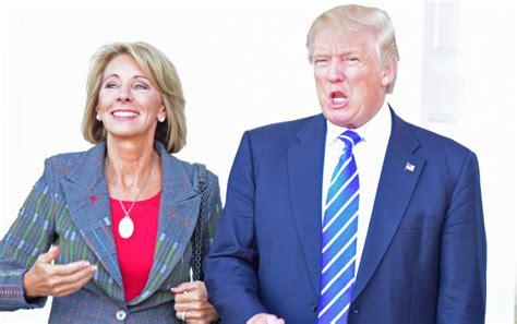betsy devos and special education betsy devos defends trump s plan to slash education