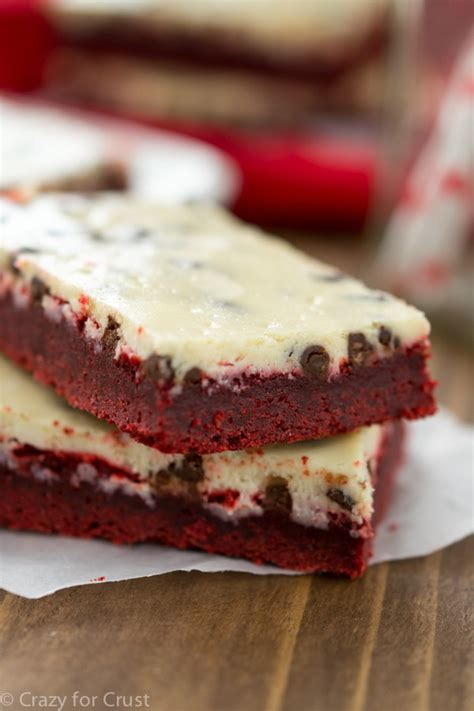13 Ingredients And Directions Of Chocolate Velvet Pie Receipt by Velvet Chocolate Chip Cheesecake Bars For Crust