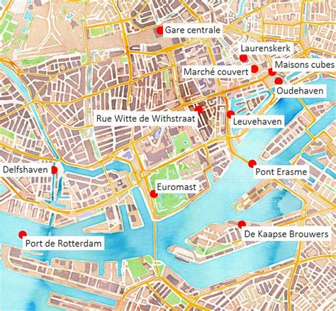 rotterdam netherlands on map best 25 rotterdam ideas on