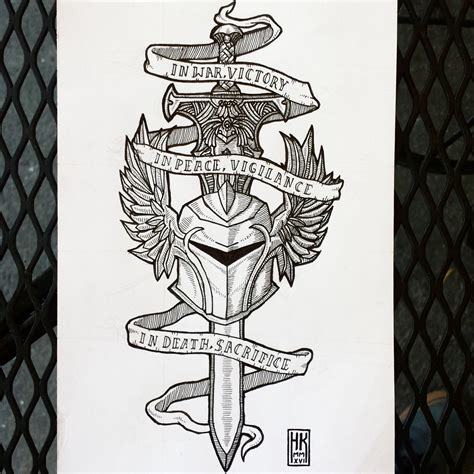 dragon age tattoos designed a grey warden for a friend grey warden