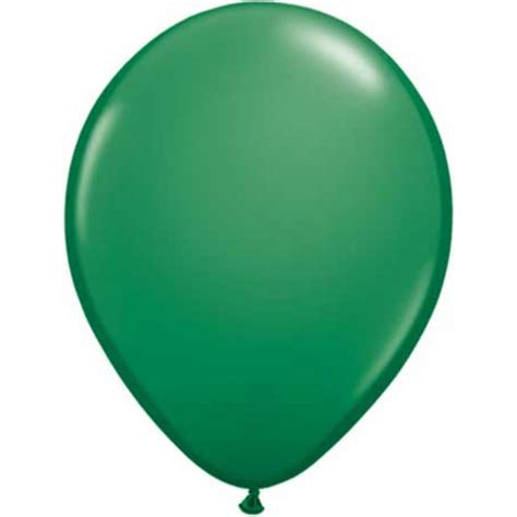 balloon rubber st standard green balloons the cupcake delivers