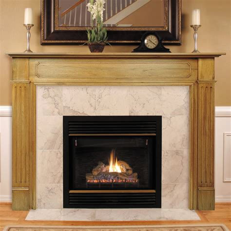 Wood Mantel On Fireplace by Wood Fireplace Mantels And Surrounds Kvriver