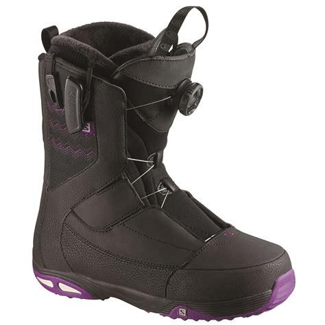 salomon self womens snowboard boot images