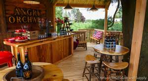 Craftman House photo tour angry orchard tasting room treehouse nelson