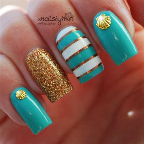 beach nail colors 2014 summer beach nails nail art by xnailsbymiri nailpolis