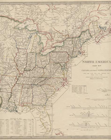 map of america circa 1830 1830 s pennsylvania maps