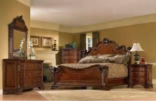 Traditional King Bedroom Sets Furniture 5 World King Size Estate Bedroom