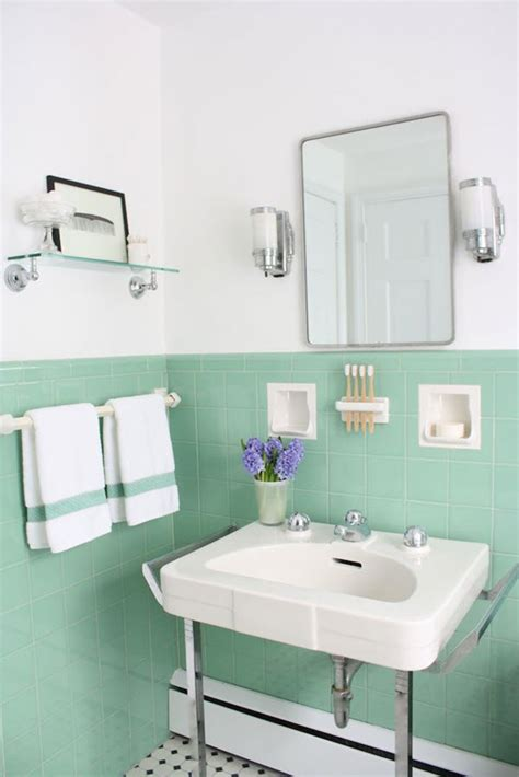 green and white bathroom ideas 40 mint green bathroom tile ideas and pictures