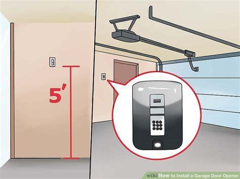 How To Put A Garage Door Opener Up Wageuzi Setting Up Garage Door Opener In Car