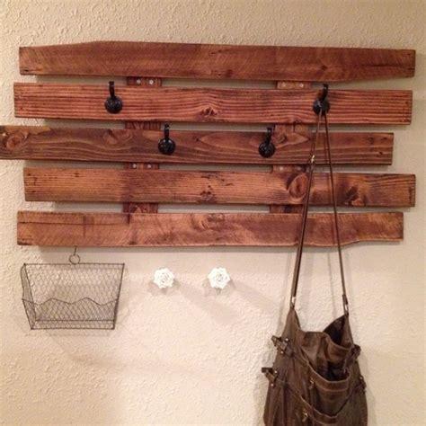 Pallet Coat Rack by Wooden Pallet Coat Rack Ideas Pallet Wood Projects