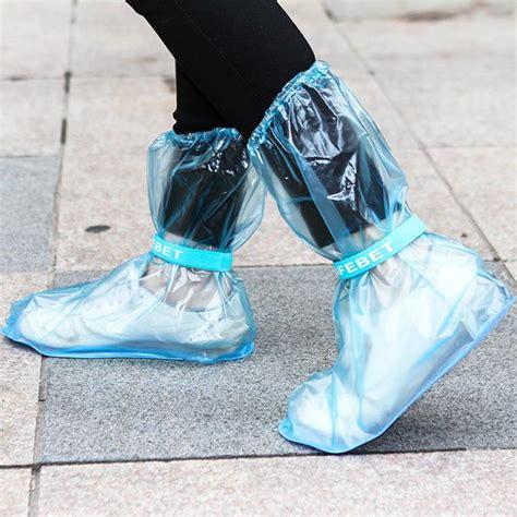 Cover Shoes Jas Hujan Sepatu Funcover Grosir Distributor Merah jual shoes cover pvc with safebet jas hujan sepatu dengan tali pengencang harga grosir