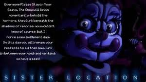 Fnaf sister location song preview lyrics left behind youtube