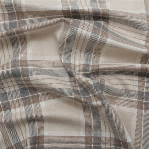 pastel upholstery fabric 100 cotton tartan check pastel plaid faux wool sofa