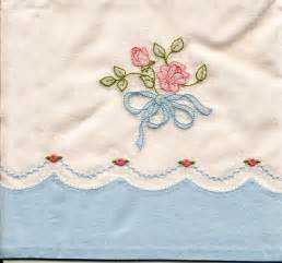 machine shadow embroidered pillowcase janice ferguson