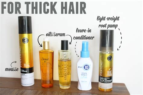 Types Of Hair Products For by The Best Hair Products For Different Hair Types