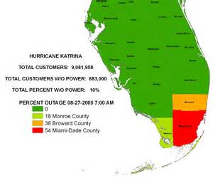 power outage map florida iser hurricane