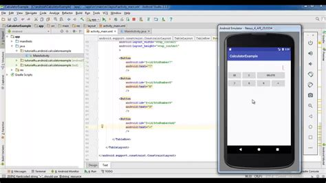 android tutorial make android calculator app how to how to create simple calculator android app android