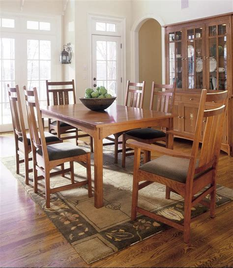 Stickley Dining Room Furniture Stickley Harvey Ellis Table Dining Sheffield And Dining Rooms