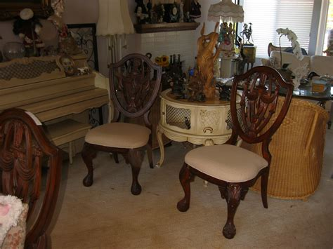 neoclassical solid mahogany dining room set for sale