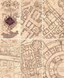 harry potter map marauders map pinteres