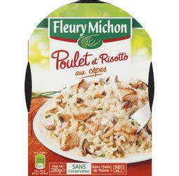 plat cuisiné fleury michon plat cuisin 233 poulet risotto fleury michon tous les