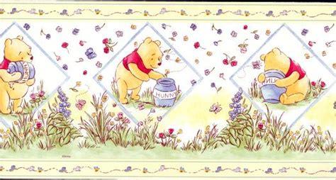 classic pooh wallpaper border disneys classic winnie the pooh wallpaper border df059104b