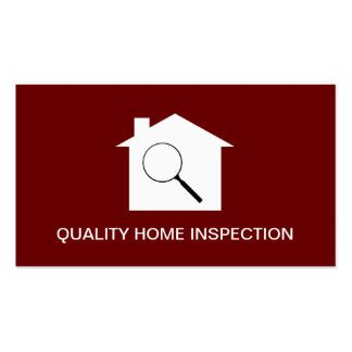 home inspection business cards templates home inspection business cards templates zazzle
