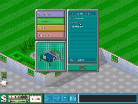 theme hospital list of rooms openth development blog news in the development of