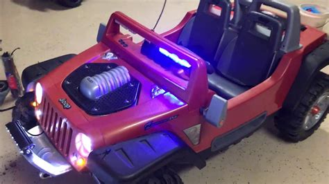 power wheels jeep hurricane modifications jeep hurricane modifications custom power wheels