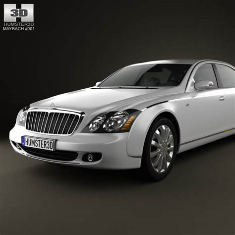 maybach 62s 2011 3d model humster3d