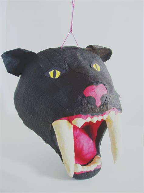 How To Make Paper Mache Pinata - paper mache sabertooth pinata by paperprimate on deviantart