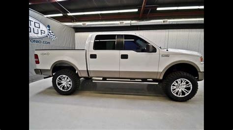 2006 Ford Truck by 2006 Ford F150 Crew Lariat 4wd Lifted Truck For Sale