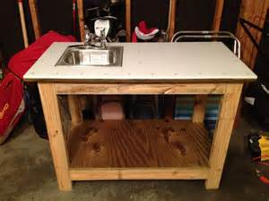 white kreg jig work bench with with a twist fish