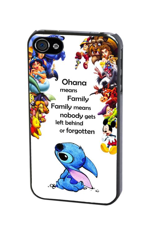 Disney All Character Iphone 4 4s 5 5s 6 6s 6 Plus 6s Plus disney lilo and stitch quote all character cover for iphone 4 4s 5 5s 5c 6 ebay