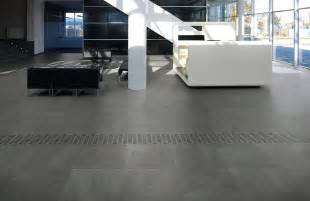 Full imagas modern gray tile floor rooms with white sofas combined