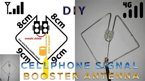 homemade portable  lte signal booster youtube